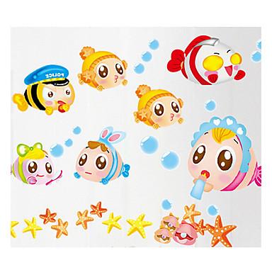 fantasi Wall Stickers Fly vægklistermærker Dekorative Mur Klistermærker / Klistermærker til kontakter / Toilet klistermærker,PVC Materiale