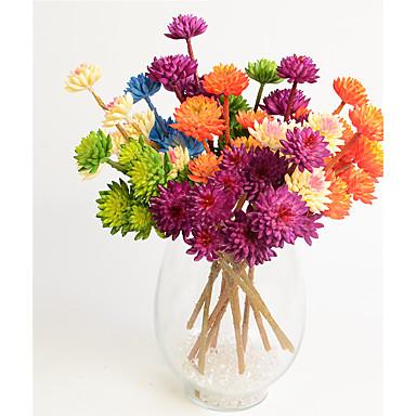 1 1 Ast Kunststoff andere Tisch-Blumen Künstliche Blumen 12.59inch/32cm