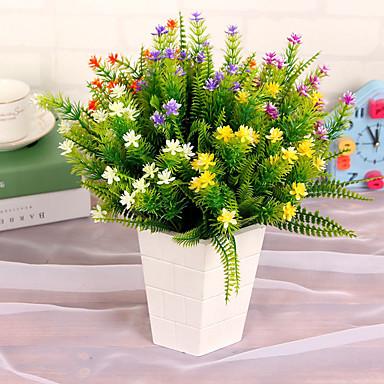 Flores artificiais 1pcs Ramo Estilo Moderno Outras Flor de Mesa