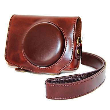 dengpin® pu lederen case camera tas dekking voor Canon PowerShot G7 x Mark II g7x2 (verschillende kleuren)