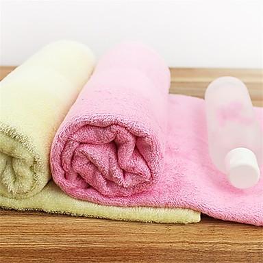 BadehåndklædeSolid Høj kvalitet 100% Bambus Fiber Håndklæde
