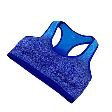 Herre SportsBH'er Anti-Rystelse Hurtigtørrende Åndbart Svedreducerende Bekvem Stødsikker SportsBH'er T-Shirt Sweatshirt for Yoga Træning