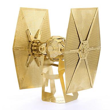 voordelige 3D-puzzels-3D-puzzels Modelbouwsets Speeltjes Vechter Tie Fighter Noviteit DHZ Metaal Jongens Meisjes 1 Stuks