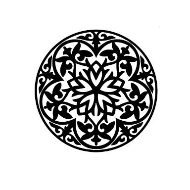 Blomster Wall Stickers Fly vægklistermærker Dekorative Mur Klistermærker,Vinyl Materiale Kan genpositioneres / Kan fjernes Hjem Dekoration