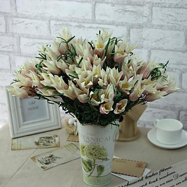1pc 1 Ast Polyester / Kunststoff andere Tisch-Blumen Künstliche Blumen 14.9inch/38CM