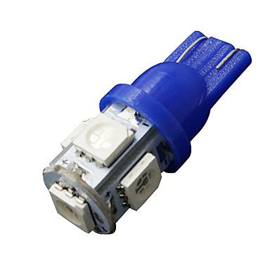 10 x ultra kék t10 5-SMD 5050 LED-es belső izzók W5W 2825 158 192 194 168