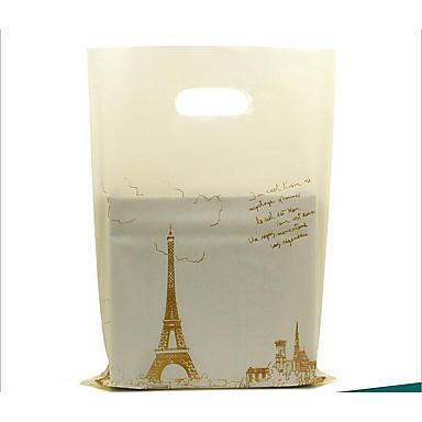 s størrelse smykker anheng boutique poser pe plastposer kan tilpasses logo