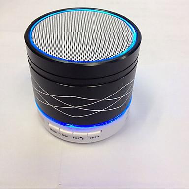 metall høyttaler natt lys innendørs bed sengen lampen lyser trykkskontroll bluetooth for telefon jul lys