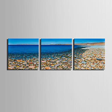 Canvas Set Landschap Europese Stijl,Drie panelen Canvas Vierkant Print Art wall Decor For Huisdecoratie