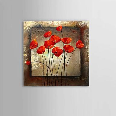 Håndmalte Abstrakt / Still Life / fantasi / Blomstret/Botanisk olje malerier,Moderne / Klassisk / Parfymert /