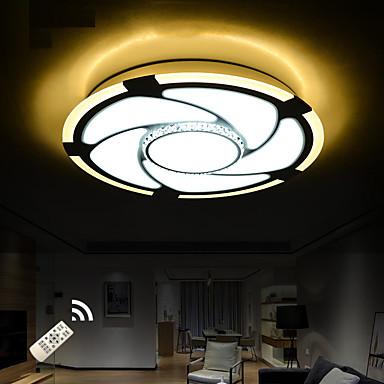 Moderne / Nutidig Krystal LED Takmonteret Baggrundsbelysning Til Stue Soveværelse Læseværelse/Kontor Spillerum 220-240V
