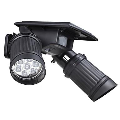 sol trådløs menneskelig bevægelse pir sensor lys 14 førte 150lm landskab spotlight lampe stativ til kviste vej