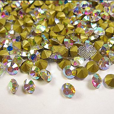 100 Glitters Klassisk Høy kvalitet Daglig Nail Art Design