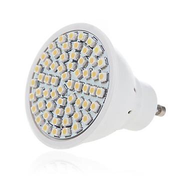 1pc 5W 350lm GU10 GU5.3 LED-spotlampen 60 LED-kralen SMD 2835 Decoratief Warm wit Koel wit 220-240V