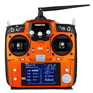 RadioLink AT10 Sender / fjernbetjening / Dele TilbehørRC Helikoptere / RC biler / Buggy / lastbiler / RC Airplanes / RC Tanks / Robotter