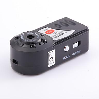 Mini dv pq7 kamera wifi kamera støtter opp 32g tf web kamera