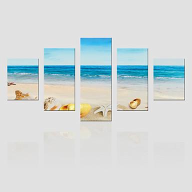 Canvas Set Maisema Moderni,5 paneeli Kanvas Pystysuora Tulosta Art Wall Decor For Kodinsisustus
