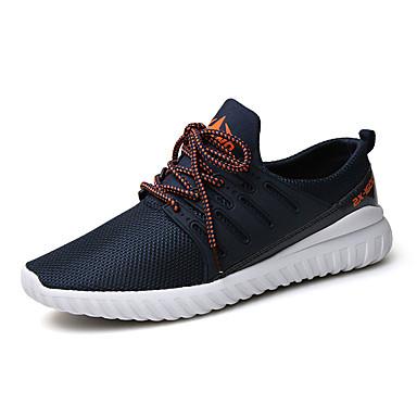 Sneakers-TylHerre-Sort Blå Grå-Sport-Flad hæl