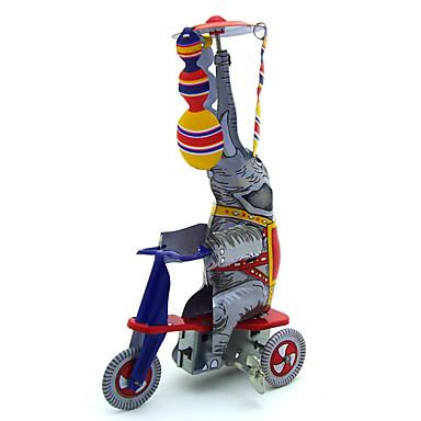 Speelgoedauto's Opwindspeelgoed Speeltjes Retro Noviteit Olifant Rauta Metaal Vintage Retro Stuks Geschenk