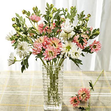1pc 1 Afdeling Polyester / Plastik Others Bordblomst Kunstige blomster 21.6inch/55CM