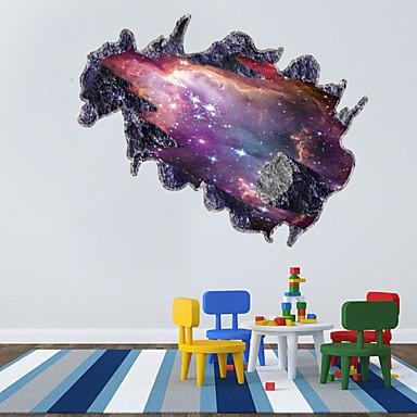 fantasi Veggklistremerker Fly vægklistermærker Dekorative Mur Klistermærker Materiale Kan Omposisjoneres Hjem Dekor Veggoverføringsbilde