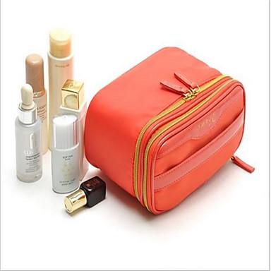 Kvinder Kosmetiktaske Nylon Afslappet Orange Mørkeblå