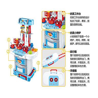 Toy kjøkken sett Liksomspill Lekekjøkken og lekemat Leketøy Originale Plast Deler