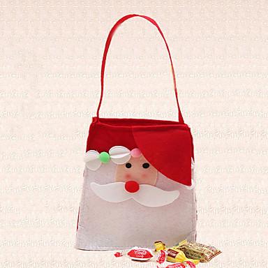 single-ombro 1pc ao ar livre natal saco de doces decoração fontes do partido de Santa ornamentos Noel casa
