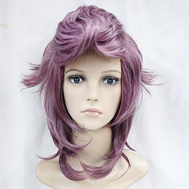 Syntetisk hår Parykker Bølget Lokkløs Cosplay-parykk