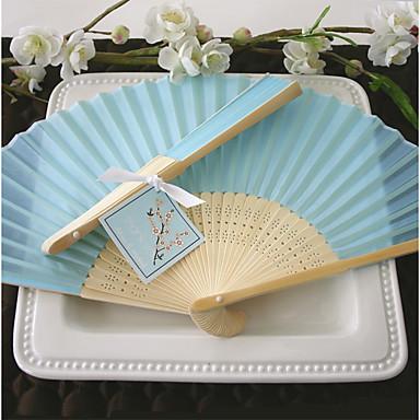 Seide Ventilatoren und Sonnenschirme-# Stück / Set HandfächerStrand Thema Garten Thema Vegas Thema Asiatisches Thema Blumen Thema