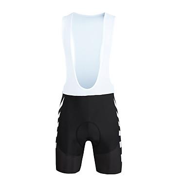ILPALADINO Shorts Bib de Ciclismo Hombre Bicicleta Petos de deporte/Culotte con tirantes Prendas de abajo Primavera Verano Licra Ropa