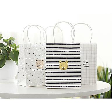 koreansk bjørn gavepose indkøbspose papirpose 60g