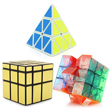 Rubiks terning Pyraminx / Alien / Spejlterning 3*3*3 Let Glidende Speedcube Magiske terninger Puslespil Terning Professionelt niveau / Hastighed Tårn Gave Klassisk & Tidløs Pige