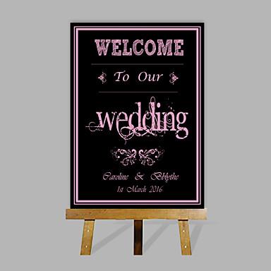 Særlige Rammer & Plader Papir Have Tema / Bryllup Med Mønster Bryllupstilbehør