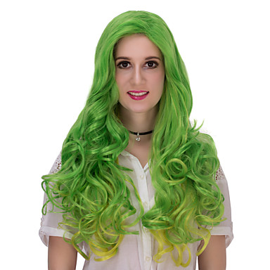 Damen Synthetische Haare Sehr lang Capless Perücken