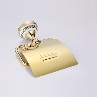WC-Rollenhalter / Gold / Wandmontage /15*15*2cm /Edelstahl /Modern /15cm 15cm 0.42
