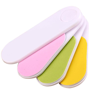 Sandepin ® quatro formas de buffers de unhas em uma coração de pacote aleatório definido
