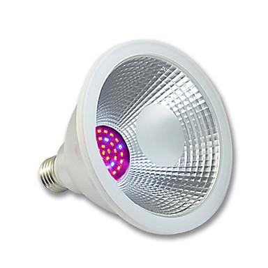 1pc 400lm E26 / E27 Voksende lyspære PAR38 36 LED perler SMD 3020 Vanntett Rosa 100-240V 220-240V