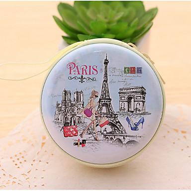 Der Eiffelturm Zinn Portemonnaie (1 PC gelegentliche Farbe)