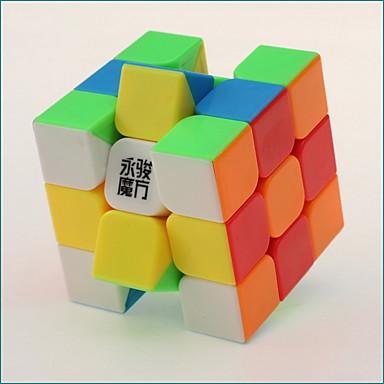 Rubik's Cube 3*3*3 Cubo Macio de Velocidade Cubos mágicos Cubo Mágico Nível Profissional Velocidade ABS Ano Novo Dia da Criança Dom