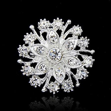 Pentru femei Broșe - Ștras Modă Broșă Argintiu Pentru Petrecere / Ocazie specială / Zi de Naștere