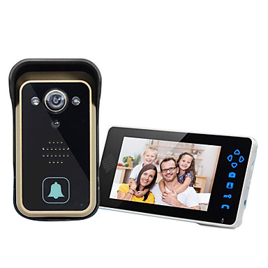 losse verstelbare lens multi-angle draadloze video-intercom deurbel