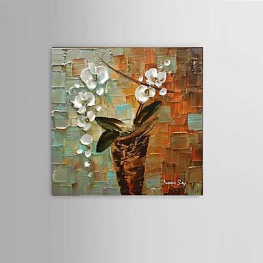 Håndmalte Abstrakt / Dyr / fantasi olje malerier,Moderne / Parfymert / Europeisk Stil Et Panel LerretHang malte