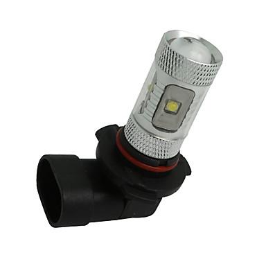 2 x hvit høy effekt 30w HB3 9005 LED lyspærer DRL tåke / kjørelys lampe 12v-24v