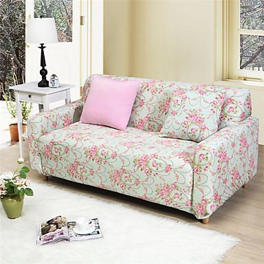 blomster Multifunktionsmaskinen all-inclusive fuld sofa dækglasset cover stretch elastik ensfarvet sofa tilfælde