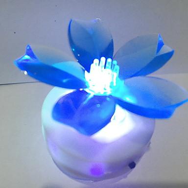 1kpl vaihtaa väriä johtanut värikäs lamppu huoneessa lamppu kylpyhuone valo omaperäisyys yöpöytälamppu yövalo