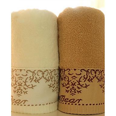 høj kvalitet ren bomuld jacquard diskontinuitet citron bjørn håndklæde