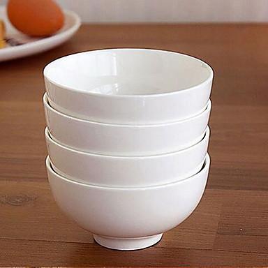 ren hvid knogle porcelæn porcelæn skål