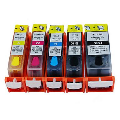 tulostimen patruunat, joita sovelletaan merkin malli pixma ip7280, pixma mg5480 / mg6380, myynti musta, 20ml