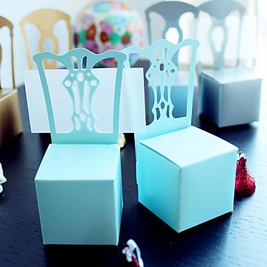 Redonda / Quadrada / Oval Papel de Cartão Suportes para Lembrancinhas com Estampado Caixas de Ofertas / Bolsas de Ofertas / Latinhas